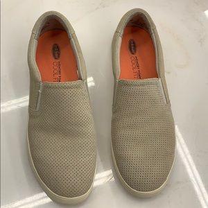Dr Scholls memory foam slip on shoes - size 8